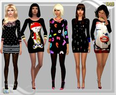 Sims 4 CC's - The Best: Clothing for Women by Dreaming Sims 4