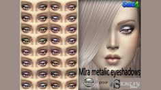 Khany Sims - Maquillage sims 4 - sims 4 make-up