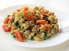 Pęczak z warzywami, czyli pomysł na zdrowy i szybki obiad dla całej rodziny