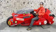 The Amazing Miniature World of Satoshi Araki Kaneda Bike, Akira Anime, Scale Models, Diy Fashion, Honda, Automobile, Miniatures, The Incredibles, World