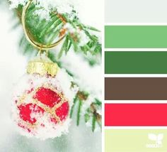 Christmas tree colors
