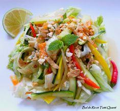 Il fait chaud, il fait beau, alors pourquoi se priver? A consommer sans modération, l'incontournable salade vietnamienne aussi rafraîchissante que savoureuse! Ingrédients : 2 personnes 2 Carottes râpées Conseil : Râper les carottes au couteau économe,...