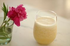 Coconut Smoothie with Orange and Vanilla, Wholeliving.com