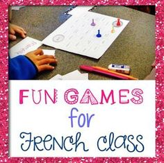 Mme R's French Resources: Learning a foreign language should be fun! French Teaching Resources, Teaching French, Learning Resources, Teaching Tips, French Language Learning, Learning Spanish, French Learning Games, Spanish Class, Spanish Language
