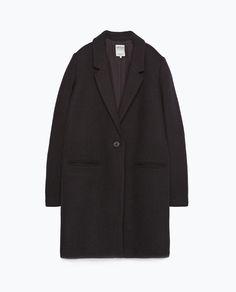 Image 8 of MASCULINE COAT from Zara