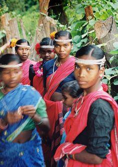 Marie Tribe in Bastar in Chattissgarh, India