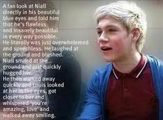 I love that fan<3 Niall deserves to hear that from everyone because it's the truth :) if I ever meet him I'm going to tell him that <3