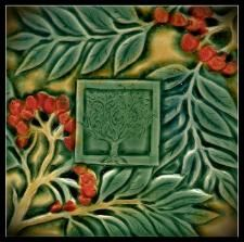 Verdant Tile Six Inch Art Tile