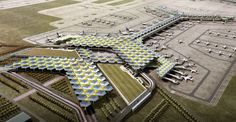 Propuesta de LegoRogers para el diseño del Nuevo Aeropuerto Internacional de la Ciudad de México