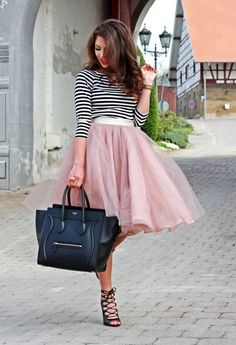 How to Wear a Tulle Skirt: 17 Ideas | Women Work Outfits