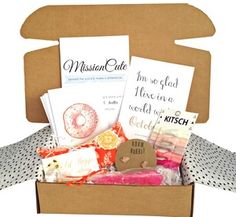 October MissionCute Box! Each month, we donate 50% of all net proceeds to a new nonprofit - the perfect gift!
