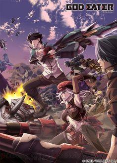 """""""God Eater"""" TV Anime 1st Episode Postponed for One Week  #godeater #anime"""