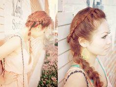 website for several long hair tutorials  http://www.youtube.com/user/CinthiaTruong/videos
