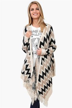 Wrap Poncho Sweater in Ivory