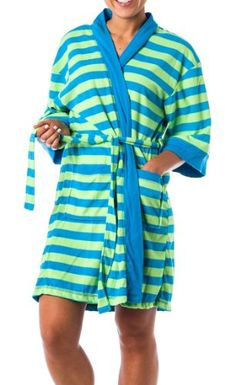 Amazon.com: Women's Lightweight Terry Kimono bath robe: Clothing