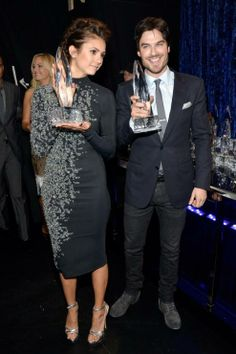 who is dating ian somerhalder 2014 Ian somerhalder & nina dobrev joke about their breakup at people's choice awards 2014 ian somerhalder gives his former if ian is dating.