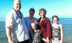 Bryan & Wendy Vow Renewal at Anini beach