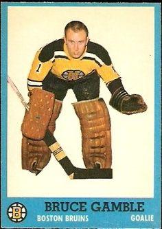 Bruce Gamble Rookie Card 1962
