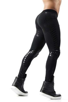 Black Power Leggings
