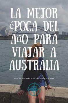 Australia es un país enorme, hay una gran diferencia en sus climas, y por supuesto unas épocas mejores que otras para visitar cada zona de Australia. En nuestra opinión, no hay una estación mejor que otra para viajar a Australia, pero sí para visitar cada región de Australia.  Nos explicamos: Dependiendo de los lugares de Australia que quieras visitar es mejor elegir una época u otra para viajar a Australia.