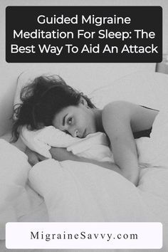Here are 2 guided meditations for migraine relief to help you drift off to sleep during a nasty attack @migrainesavvy #migrainehelp #migraineremedies #stopmigraines Migraine Pain, Chronic Migraines, Migraine Relief, Chronic Illness, Chronic Pain, Mindfulness Practice, Guided Meditation, Migraine Pressure Points, Brain Lesions