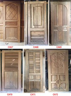Single Door Design, Wooden Main Door Design, Modern Wooden Doors, Single Doors, Home Decor, Doors, Decoration Home, Room Decor, Home Interior Design