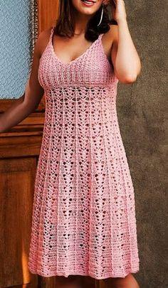 Ivelise Feito à Mão: Vestido De Crochê                                                                                                                                                                                 Mais