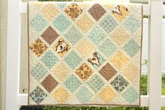 Diary of a Quilter - a quilt blog: New Baby Quilt Tutorial
