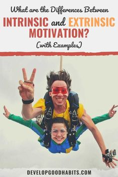 Learn the difference between intrinsic and extrinsic motivation and use this information to improve your life and influence those around you. Types Of Motivation, Self Motivation, Motivation Success, Weight Loss Motivation, Fitness Motivation, Motivational Pictures, Motivational Quotes For Life, Inspirational Quotes, Affirmations For Anxiety