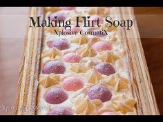 Making Flirt Cold Process Soap - YouTube