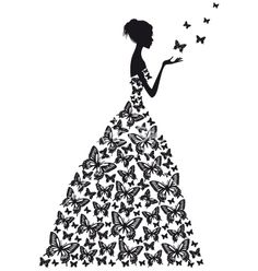 Butterfly woman vector 1298444 - by amourfou on VectorStock®