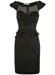 Bqueen Decadent Frills Dress K145H,  Dress, Bqueen Decadent Frills Dress, Chic