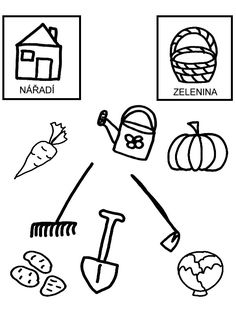 Pro Šíšu: Zahrada Numbers Preschool, Math Numbers, Preschool Math, Autumn Activities For Kids, Math For Kids, Crafts For Kids, Kids Math Worksheets, Free Printable Worksheets, Kids Reading Books