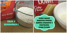 Aquí les muestro cómo hacer nuestras propias harinas leudante y pastelera de una forma fácil. Suscribete a mi canal: https://www.youtube.com/user/MadelinsCak...