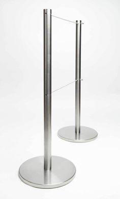 Retractable Q-Cord Barriers. #retractable #barriers #stanchions #artdisplay www.artdisplay.com www.q-cord.com