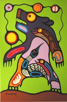 Canadian First Nations Artist Mark Anthony Jacobson, Shemanic Artist of the Contemporary Woodland Art Movement Native American Artwork, Native American Artists, Woodland Art, Raven Art, Haida Art, Canadian Art, Indigenous Art, Aboriginal Art, Native Art