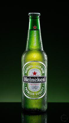 Heineken - Beer photography study