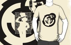 buy it - http://www.redbubble.com/people/aoko/works/13933593-kaito-kid-quotes-logo?p=t-shirt&ref=work_carousel_work_portfolio_1