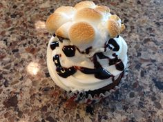 S'more cupcakes by Posh Parties by Paula