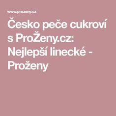 Česko peče cukroví s ProŽeny.cz: Nejlepší linecké - Proženy Czech Desserts, Food And Drink, Sweets, Xmas, Cookies, Baking, Essen, Sweet Pastries, Yule