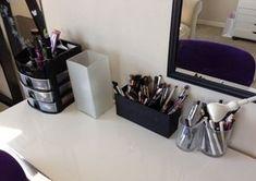 polish insomniac's beauty room - nail polish\/makeup storage and organization