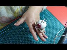 Acerisco o alfiletero para dedo - YouTube N Project, Pin Cushions, Crafty, Make It Yourself, Sewing, Youtube, Tela, Diy Dog, Sewing Accessories