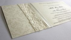wedding invitations new zealand, embellishments - ribbon, rhinestones, lace invites nz