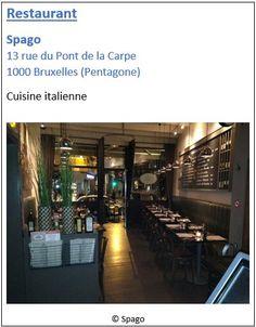 Restaurant Spago - 13 rue du Pont de la Carpe - Pentagone