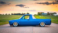 Built To Drive: The Dub Dynasty 1981 VW Caddy – Slam'd Mag