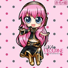 Vocaloid - Luka Megurine by Akage-no-Hime on DeviantArt
