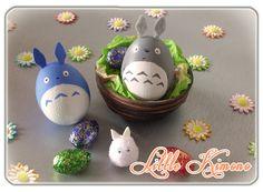 ❣ Little Kimono Handmade ❣ : Huevos de Pascua · Totoro