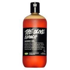 Lush The Olive Branch Shower Gel Lush Cosmetics, Handmade Cosmetics, Lush Shower Gel, Lush Fresh, Vine Leaves, Best Shakes, Skin So Soft, Skin Care, Shampoo