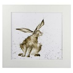 Wrendale Designs Country Set Large Notebook Hare Raising NEW Illustrations, Illustration Art, Rabbit Illustration, Animal Drawings, Art Drawings, Year Of The Rabbit, Wrendale Designs, Rabbit Art, Bunny Art