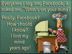 Eveyrtime I log onto Faceboook Likes Facebook, About Facebook, Facebook Quotes, Facebook Humor, Teenage Parties, Paper Clip Art, Senior Humor, Change My Name, Wall Writing